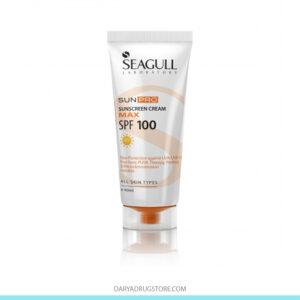 کرم ضد آفتاب بدون رنگ SPF100 سی گل