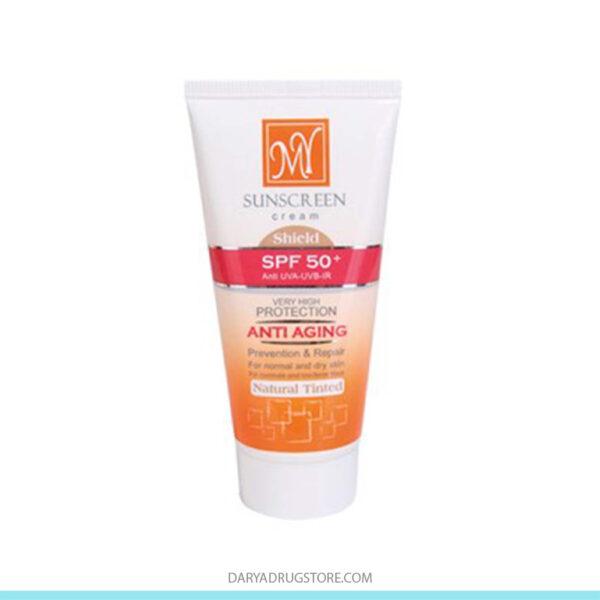 کرم ضد آفتاب رنگی آنتی ایج SPF50